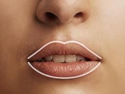 Lippen konturieren für sinnliches Aussehen in Bern